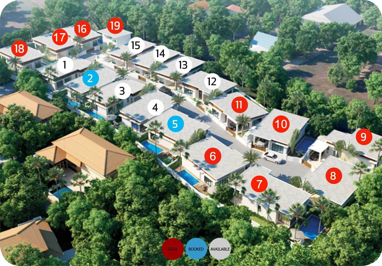 The Greens Phuket Villa Price Availability