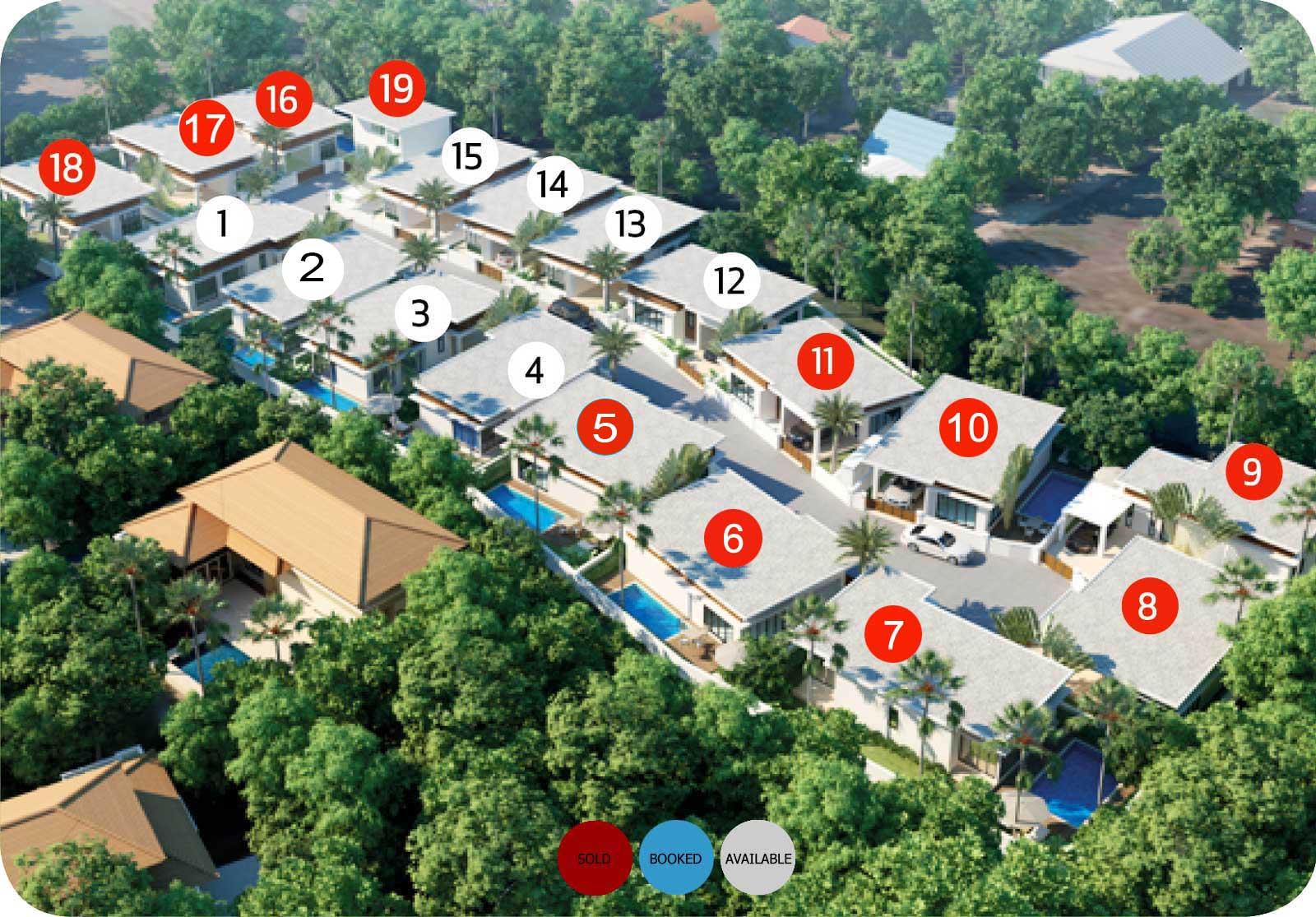 The Greens Phuket Villa Price Availability 2021